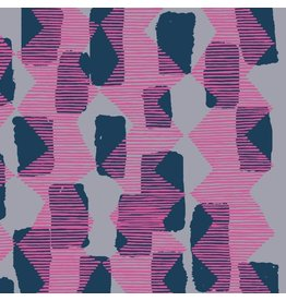 Bookhou Vestige, Tilli Rain in Magenta, Fabric Half-Yards PWBH004