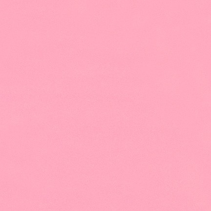 Robert Kaufman Brushed Cotton Flannel, Solid Medium Pink, Fabric Half-Yards