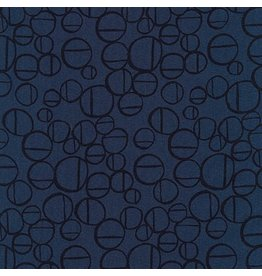 Anna Graham of Noodlehead Linen, Forage Essex, Roam in Midnight, Fabric Half-Yards AFH-17982-69