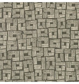 Anna Graham of Noodlehead Linen, Forage Essex, Crate in Pepper, Fabric Half-Yards AFH-17983-188