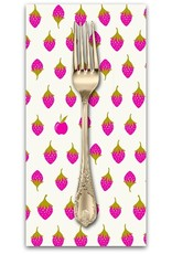 PD's Alison Glass Collection Road Trip, Apples in Sweet, Dinner Napkin