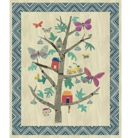 "Carrie Bloomston Wonder, Tree of Wonder in Multi, 54"" Fabric Panel, Digitally Printed 50763DP-X"