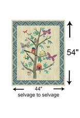 """Carrie Bloomston Wonder, Tree of Wonder in Multi, 54"""" Fabric Panel, Digitally Printed 50763DP-X"""