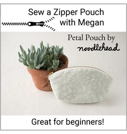 Megan Selby, Instructor 11/10/18: Make a Zipper Pouch with Megan