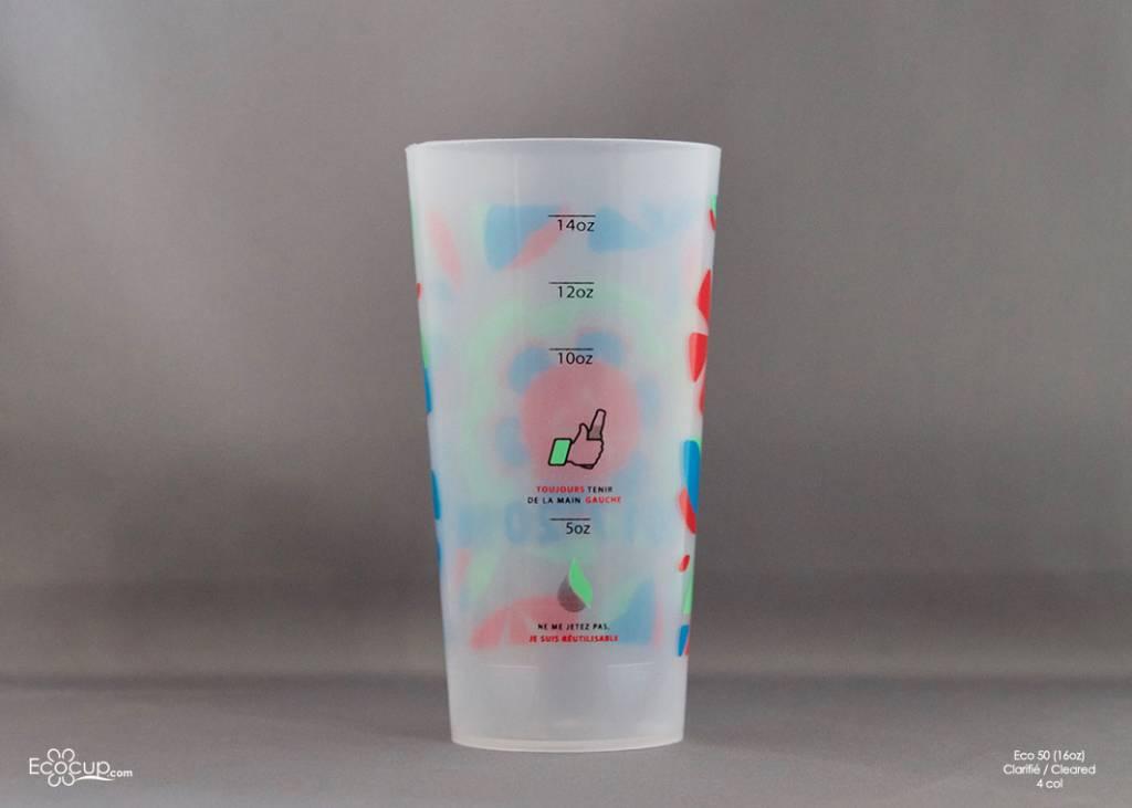Eco50 (50cl/16oz) - 210 verres par boite