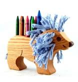 Alain Mailhot - Sculpteur Pencil holder - Lion