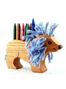 Alain Mailhot - Sculpteur 1 Porte-crayon de cire - Lion