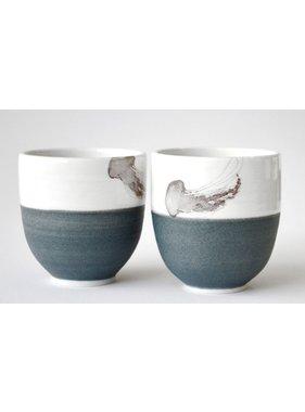 Catherine De Abreu 1 Small Tea Bowl Jellyfish 12-M
