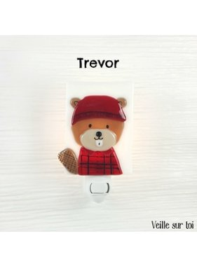 Veille sur toi Veilleuse Castor Trevor