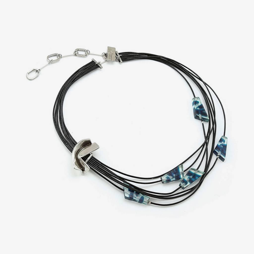 Anne Marie Chagnon Gaelle necklace - Blue