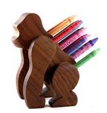 Alain Mailhot - Sculpteur Pencil holder - Gorilla
