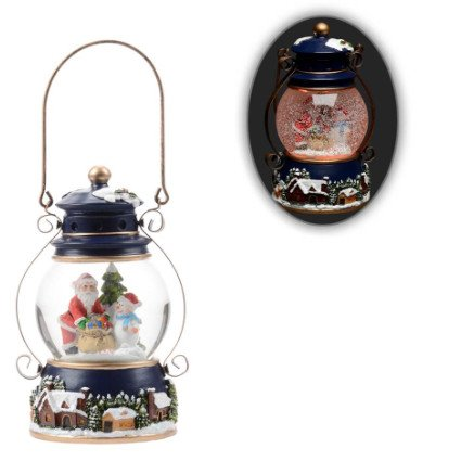 Globe lanterne musicale