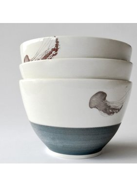 Catherine De Abreu 1 Medium Bowl Jellyfish 09M
