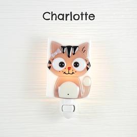 Veille sur toi Cat Night light