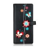 Flutter long wallet - Black