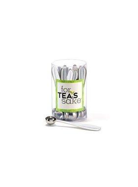 For Tea's Sake, Stainless Steel Teaspoon.
