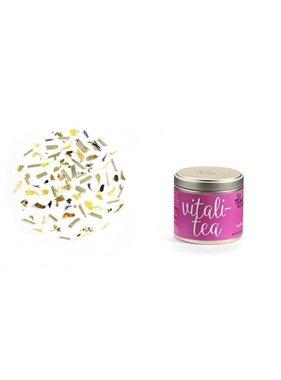 Pour l'amour du thé. Mélange bien être Vitali-thé (0.7oz/20g)