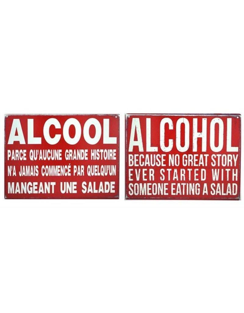 Affiche Alcool