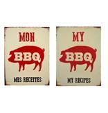 Affiche mon BBQ mes recettes