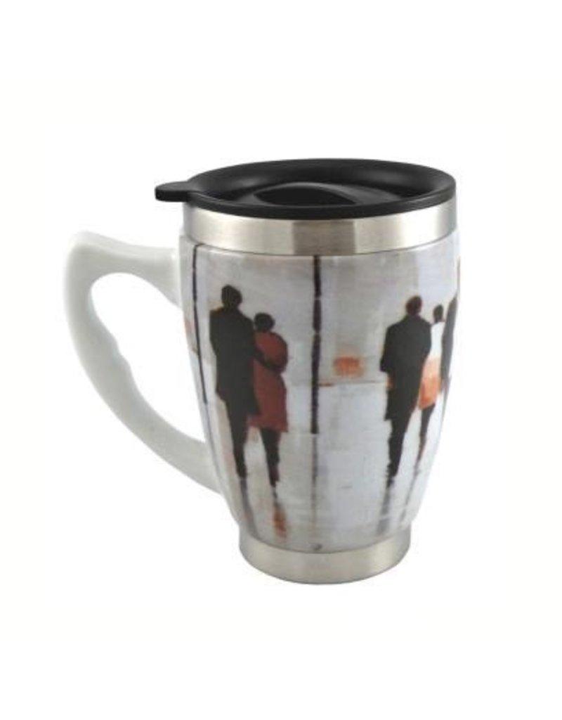 Tasse à café thermos parapluie
