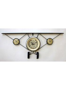Airplane vintage clock