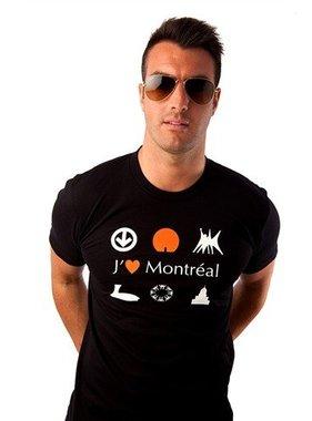 1 T-shirt J'aime MTL