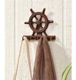 Crochet Roue de Bateau en Fonte