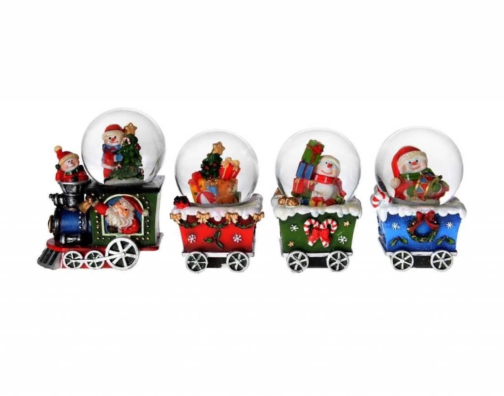 Christmas Train Globe