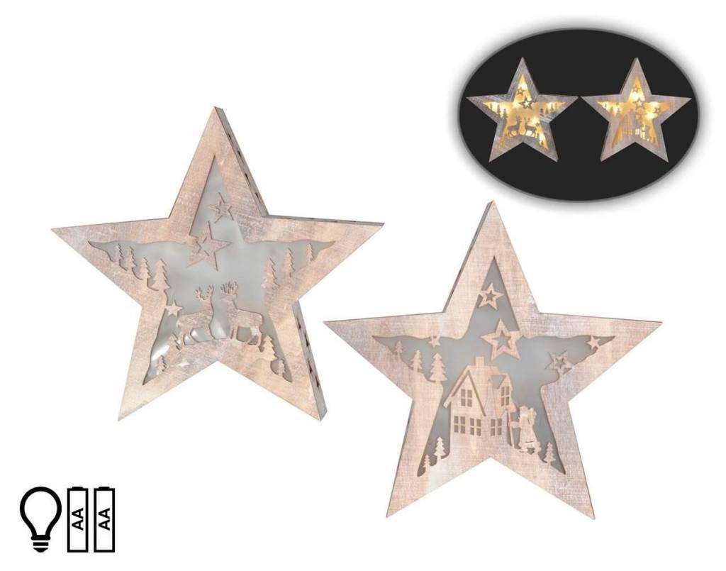 Hologram LED star