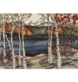 Renee Bovet Aimant Bouleau sur le lac P163