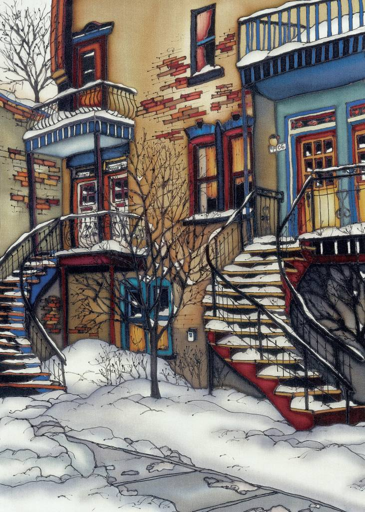 Renee Bovet Reproduction -  Blue Plateau, MTL 20x14