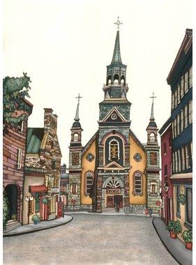 Renee Bovet Église Notre-Dame, MTL 7x5