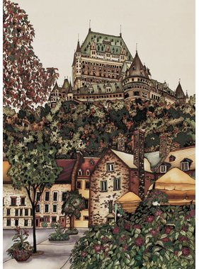 Renee Bovet Aimant Chateau Frontenac P106