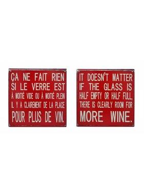 Affiche -Humour et vin
