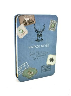 Cahier de notes vintage cerf.