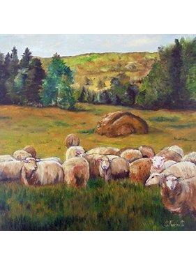Geneviève Fréchette Les moutons a Guy