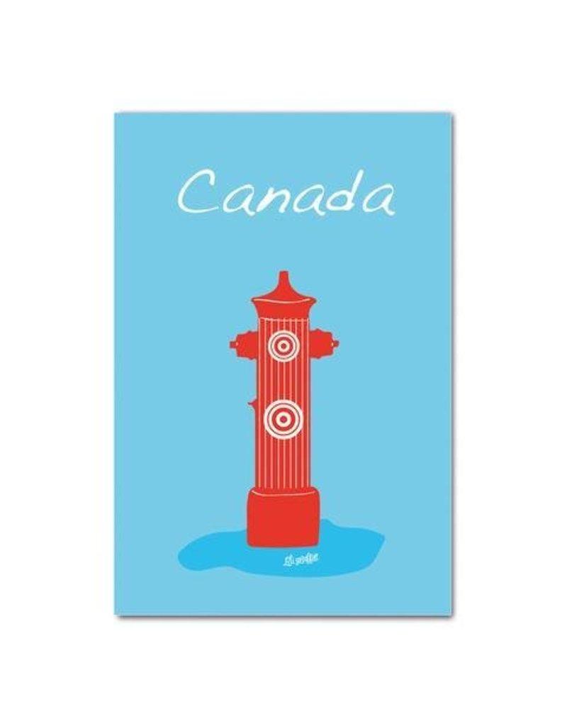 Carte Postal - Borne Canada