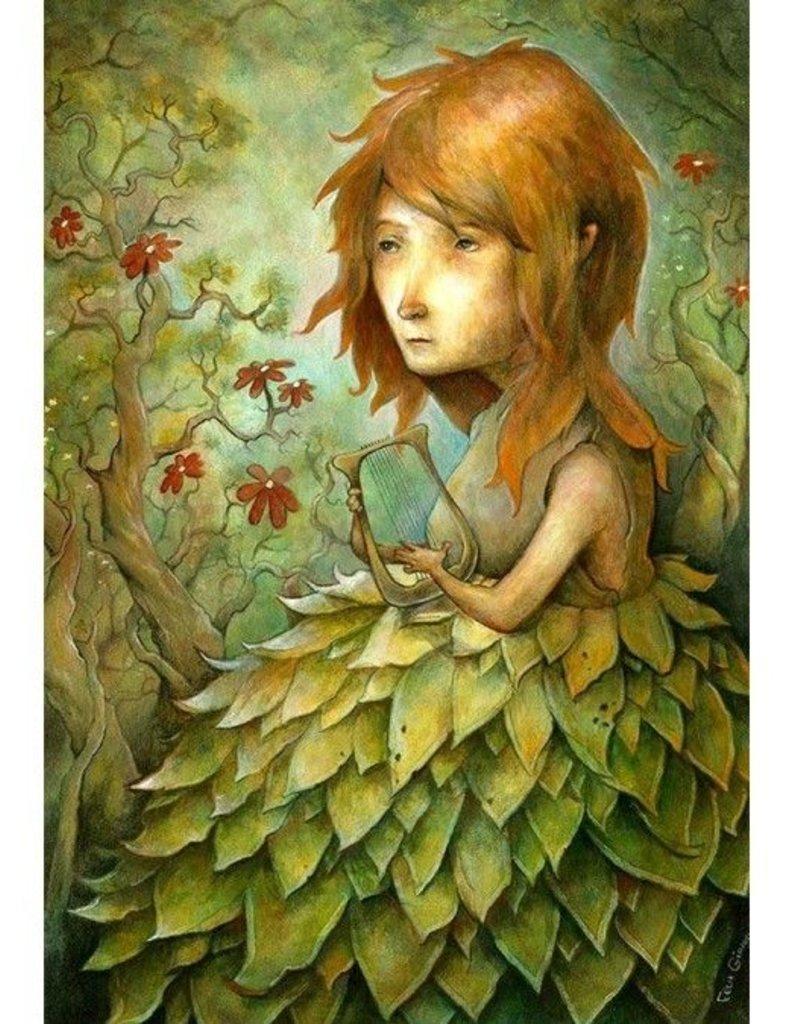 Jeune fille au lyre