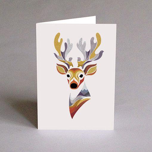 Charlie the Deer 5 x 7