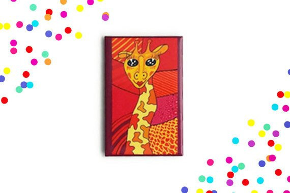 Aimant girafe
