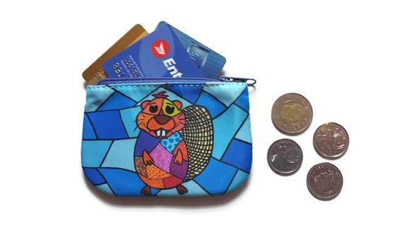 Beaver Coin purse