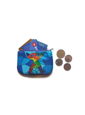 Chat porte monnaie