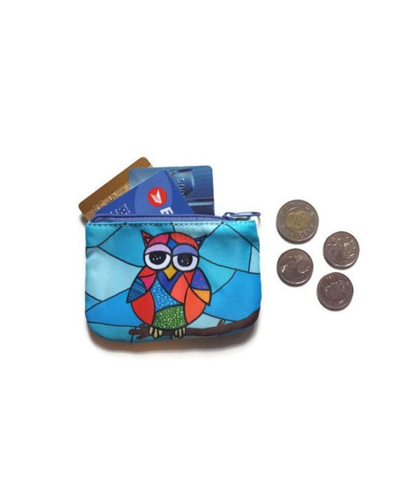 Hibou porte monnaie