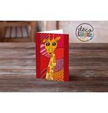 La girafe Carte de souhait