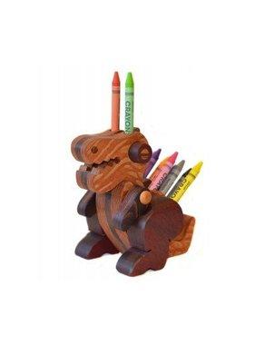 Alain Mailhot - Sculpteur 1 Porte-crayons de cire - Bébé Spinonaure