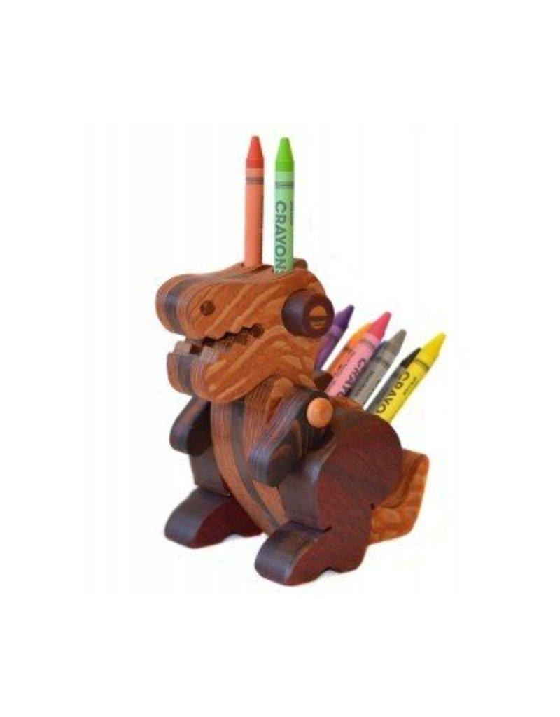 Alain Mailhot - Sculpteur Porte-crayons de cire - Bébé Spinonaure