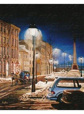 """Antonine Rodier Place d'Youville 24""""x20"""""""