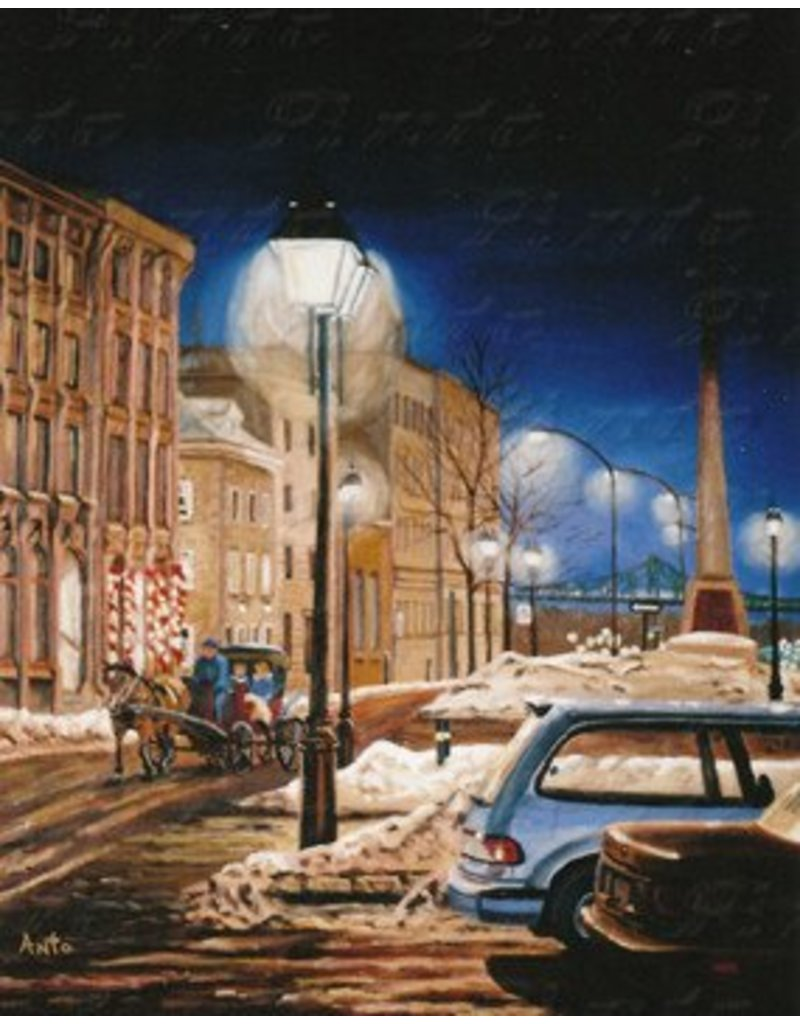 Antonine Rodier Place d'Youville - Montréal