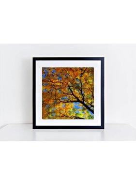 Feuilles d'automne 8x8