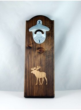 Magnetic Moose bottle opener